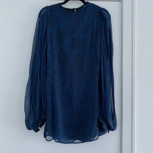 Winter Kate Navy Dress - Size XS BNWT